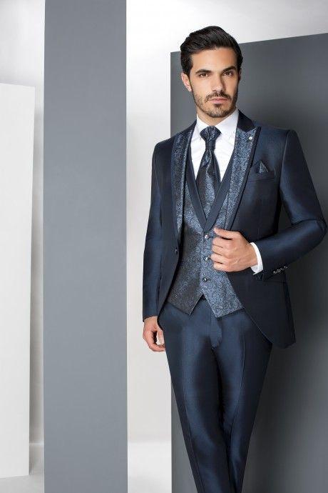 Blue groom suit WEDDING 30.19.320