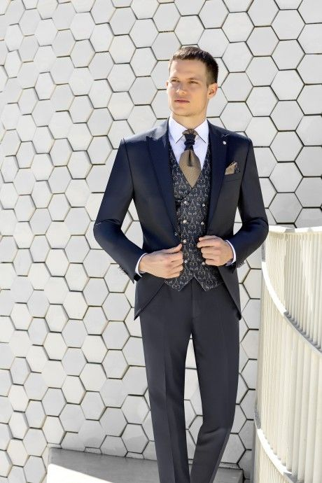 Blue groom suit WEDDING 31.20.302