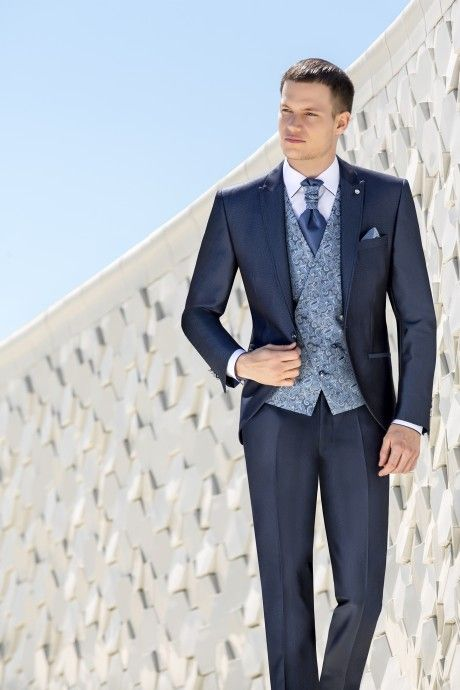 Blue groom suit WEDDING 35.20.320