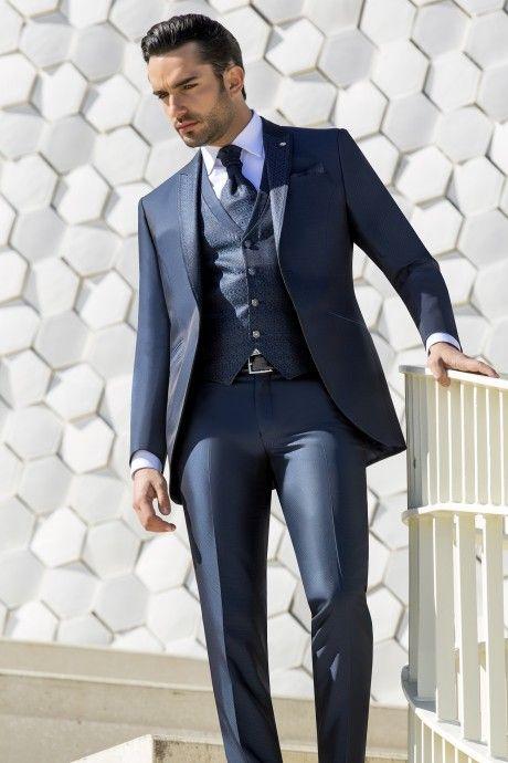 Blue groom suit Wedding 37.20.322