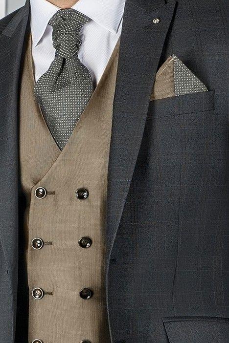 Grey groom suit SPECIAL EDITION 63.20.011