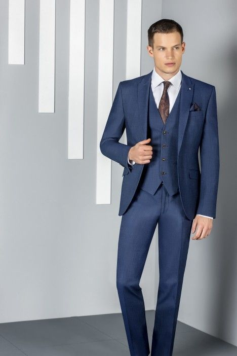 Blue groom suit SPECIAL EDITION 78.20.310