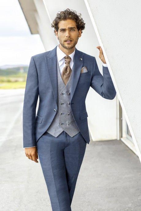 Blue groom suit Eternal 16.19.320