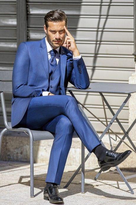 Hochzeitsanzug Special Edition Blau 43.18.324