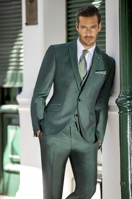 Green groom suit Special Edition 74.20.911