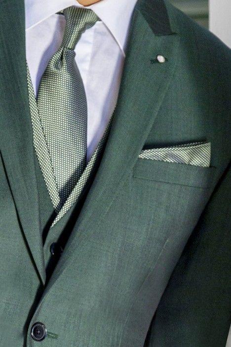 Traje de novio Special Edition verde 74.20.911