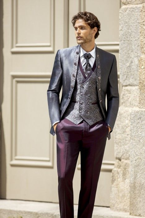 Grey groom suit Trend 52.20.010