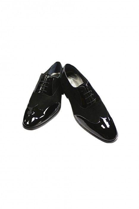 Zapato novio VENTURA negro en piel