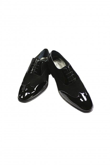 Black leather groom shoe VENTURA