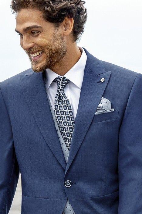 Blue groom suit Eternal 01.21.320